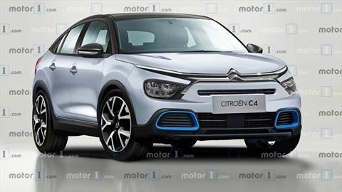 Citroën prepara un C4 con silueta estilo coupé