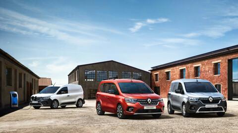 Renault Kangoo 2021: todo nuevo para el comercial francés