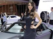 Las chicas del Auto Show de Sao Paulo 2016