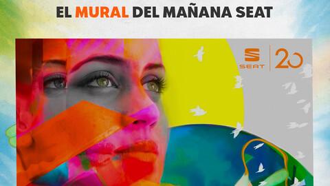 SEAT celebra 20 años en México con el Mural del mañana