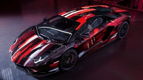 Lamborghini Aventador S por Yamamoto: Superdeportivo a la moda