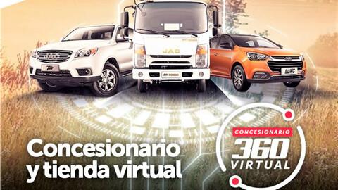 JAC presenta concesionario virtual en Colombia
