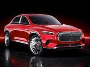 Vision Mercedes-Maybach Ultimate Luxury, un sedán convertido en SUV