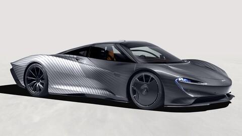 "McLaren Speedtail ""Albert"", verse bien no es fácil"