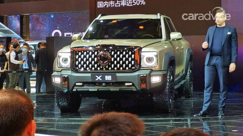 Great Wall X Cannon Concept, la futura rival china de RAM 1500, Ford Lobo y compañía