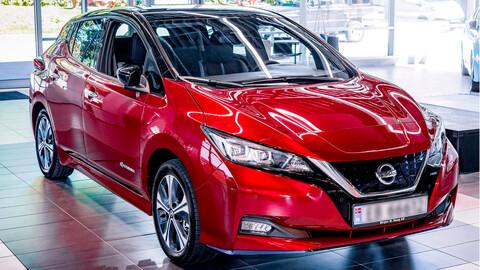 Nissan LEAF alcanzó el medio millón de unidades producidas
