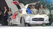 Mercedes-Benz 300 SL Alas de Gaviota 1955 es el Best of Show