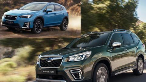 Subaru XV y Forester 2021, ahora son híbridos y estrenan tecnología e- BOXER
