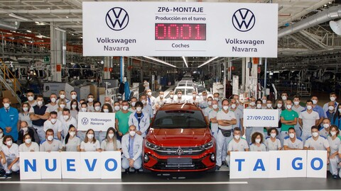 Volkswagen inicia la producción del Taigo, la versión europea del Nivus, en España