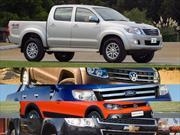 Top 5 las pick-ups más vendidas en Argentina en enero de 2015