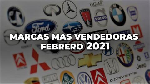 Marcas más vendidas en Colombia en febrero de 2021