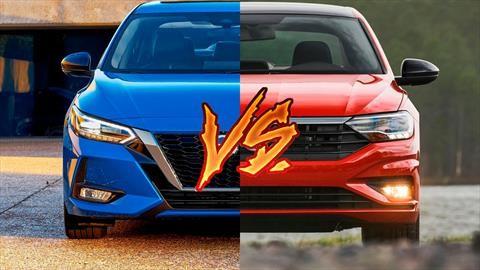 Nissan Sentra contra Volkswagen Jetta, dos rivales históricos se enfrentan