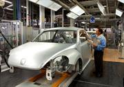 Volkswagen de México rompe récord de producción mensual