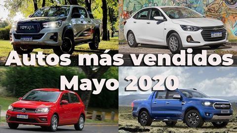 Top 10 los autos más vendidos de Argentina en mayo de 2020