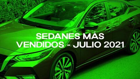 Sedanes más vendidos en Colombia en julio de 2021