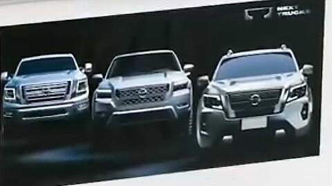 Pasó piola: Nissan filtró discretamente el rediseño de la Frontier norteamericana