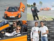 Jenson Button Vs.Cristiano Ronaldo: Drift en Jarama