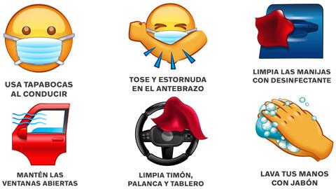 Volvo lanza sus emojis de seguridad