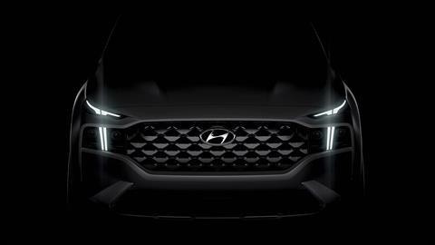Adelanto de la nueva Hyundai Santa Fe 2021