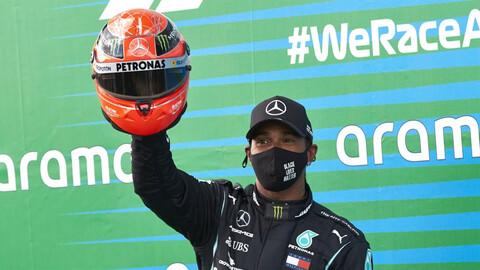 F1 GP de Eifel 2020: ¡Lewis Hamilton logró su 91° victoria en la Fórmula 1!