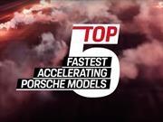 Video: Estos son los 5 Porsches que aceleran más rápido