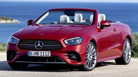 Mercedes-Benz Clase E Convertible 2021: el sueño alemán a cielo abierto