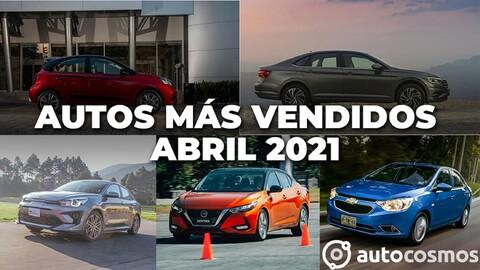 Los 10 autos más vendidos en abril 2021