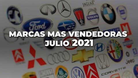 Marcas más vendidas en Colombia en julio de 2021