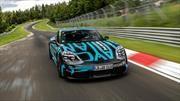 Porsche Taycan ya marca un récord de Nürburgring
