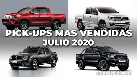 Top 10: Las pick-ups más vendidas de Argentina en julio de 2020