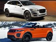 Jaguar F-Pace y Range Rover Evoque convertible, llegarán a Colombia