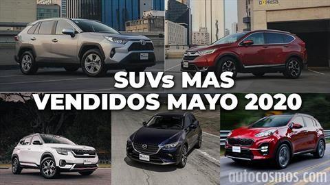 Los 10 SUVs más vendidos en mayo 2020