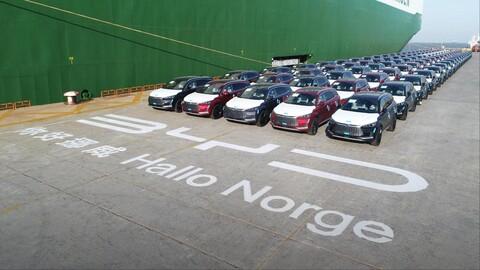 Noruega, la puerta de entrada de los eléctricos chinos al mercado europeo