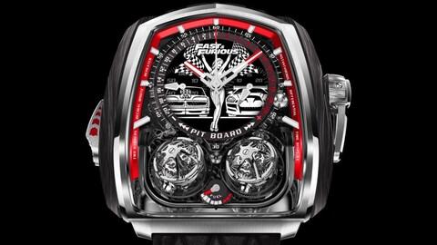 Si sos fanático de Rápido y Furioso, este reloj tiene que ser tuyo