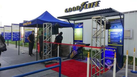Goodyear abre punto de reciclaje de residuos