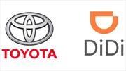 Toyota apuesta fuerte a DiDi, el anti-Uber chino
