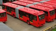 TransMilenio pone a rodar sus primeros 140 buses a gas natural