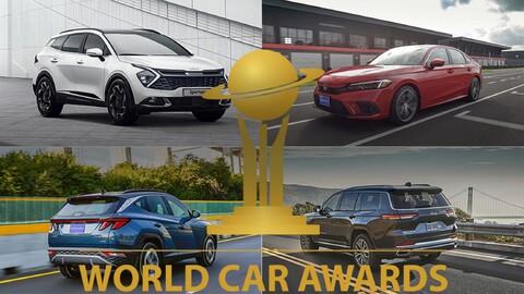 Esta es la lista de autos elegibles para el World Car Awards 2022