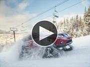 Nissan Rogue Warrior, porque todo se ve mejor con orugas para la nieve