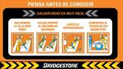 """Bridgestone de Colombia realiza campaña """"Piensa antes de Conducir"""""""