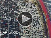 Así se vive el tráfico en China