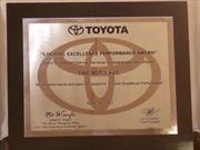Fric-Rot fue premiado por Toyota Argentina