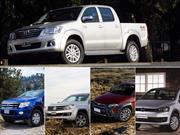 Top 5 las pick-ups más vendidas en abril de 2014