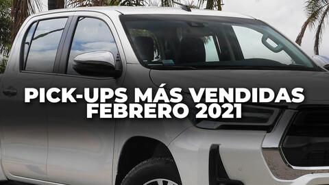 Top 10: Las pick-ups más vendidas de Argentina en febrero de 2021