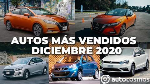 Los 10 autos más vendidos en diciembre 2020