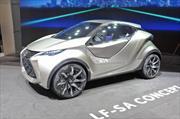 Lexus LF-SA Concept, se presenta en sociedad