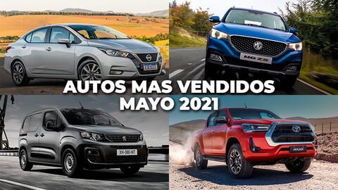 Los autos más vendidos en Chile a mayo de 2021