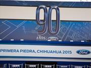 Ford coloca la primera piedra de su nueva Planta de Motores en Chihuahua