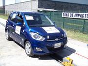 Cesvi México realiza prueba de choque frontal del Dodge i10 2012