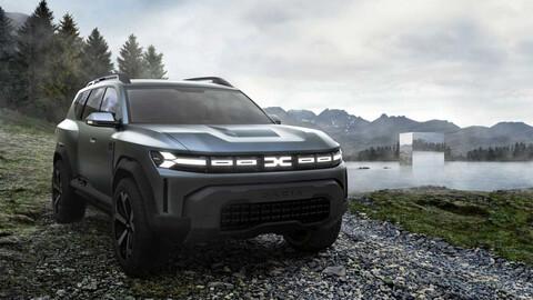 Dacia Bigster, el conceptual que anticipa una Duster para siete pasajeros